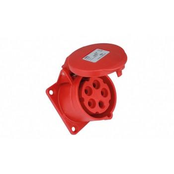 Commel Industrijska utičnica s poklopcem standard  282-301