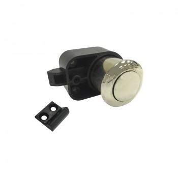 Cilindar bravica - utisni gumb 4860, trn 25 mm, poniklano mat