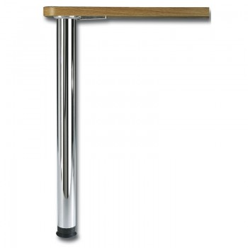 Camar noge za stol 710mm,+30mm podesiv, 1GT 4kom ø 60mm bijeli čelik
