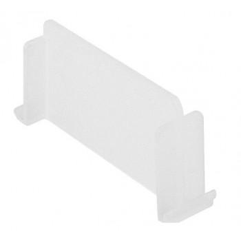 CUISIO poprečna pregrada za posudu 150 mm, plastika prozirna, bijelo