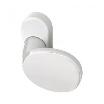 Euroline prihvat za vrata  Kugla 65 x 50 mm aluminij bijela