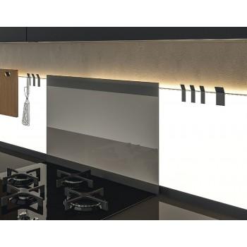 L & S K Panel zaštita od vručine, 650 mm crna