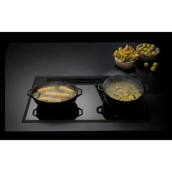 Falmec SINTESI ploča za kuhanje sa integriranom napom crna