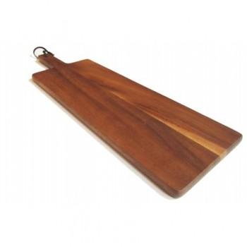 Daska za rezanje i posluživanje,drvo 15x48x1,5  cm