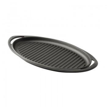 Lava ovalna grill ploča 23x40cm