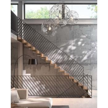 Montažne stepenice Nerezine 2 kata, povezuju dvije etaže