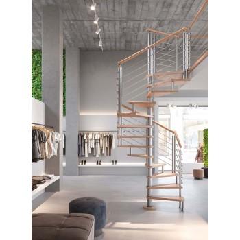 Spiralne montažne stepenice Chiocciola A