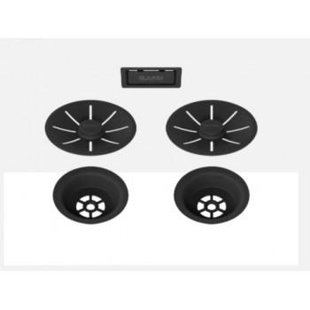 BLANCO BLACK EDITION InFino set za dva korita 239979