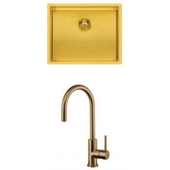 Reginox SET Miami 50x40 GOLD + Cano GOLD sudoper i slavina