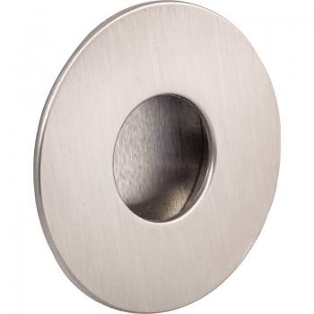 Ukopna ručkica Geometric okrugla ø 70 mm, upušt. ø 45 mm, cink ef....