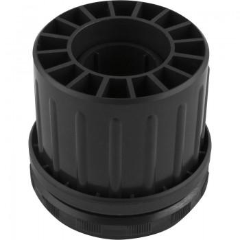 Dodatni podesivi dio dolje-cilindrična noga stola/aluminij ø 50 mm