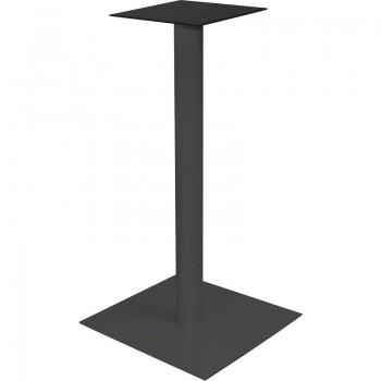 Postolje za barski stol Pegasus E - čelik crno obložen