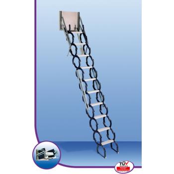 Junior čelične škareste stepenice za najmanje otvore