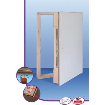 Revizorska vrata s ekstremnom izolacijom (87 mm)