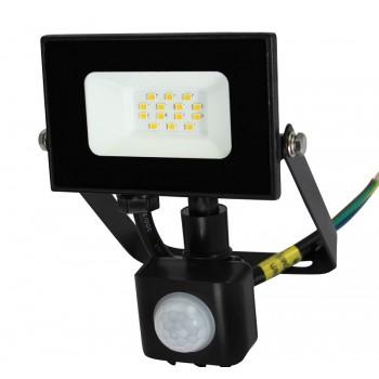 Commel LED reflektor 10 W s detektorom pokreta 307-219