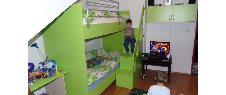 Izrada namještaja po mjeri - Dječje sobe